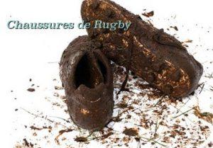 A propos de la chaussure de rugby...